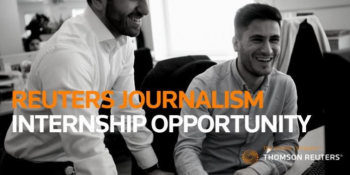 Thomson reuters journalism training programme 2018 (middle east.