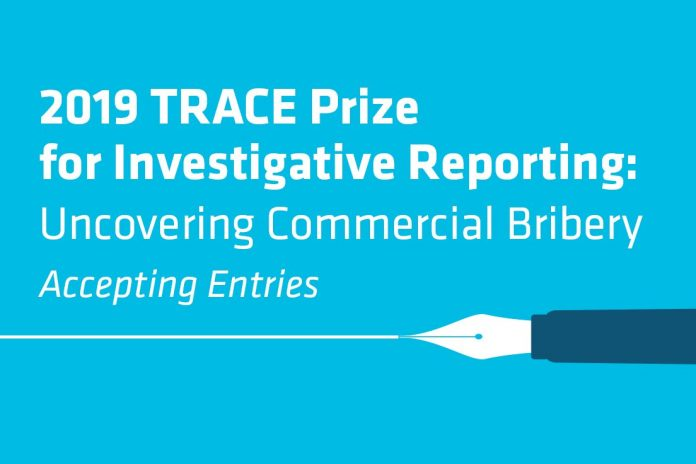 trace prize 2019 for investigative reporting uncovering commercial