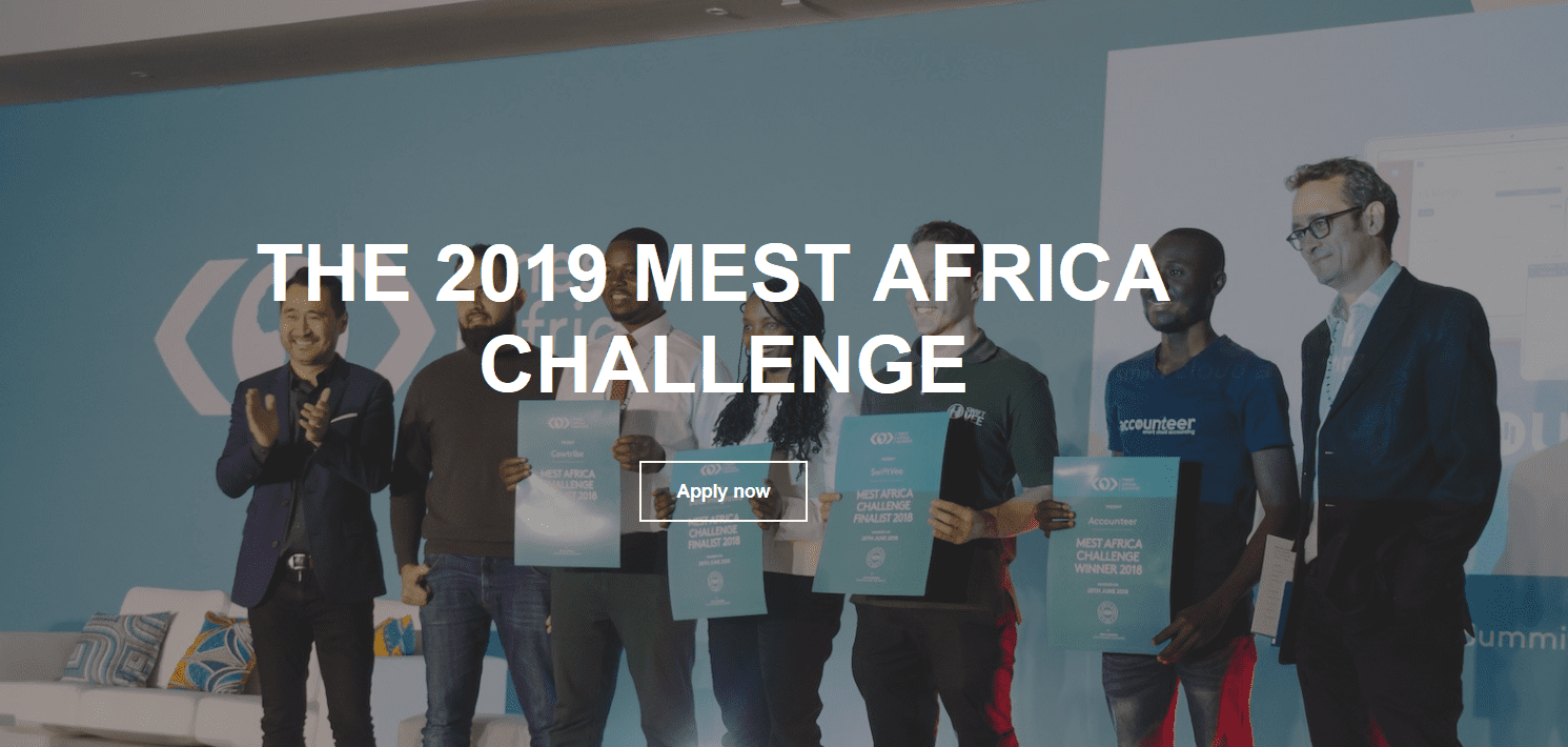 MEST Africa Challenge 2019 scale-up pitch competition for