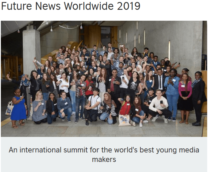 British Council Future News Worldwide Conference 2019 for