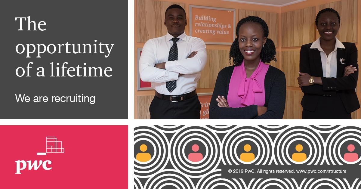PricewaterhouseCoopers (PwC) Uganda Graduate Recruitment Programme