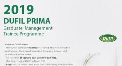 dufil-graduate-management-trainee-programme