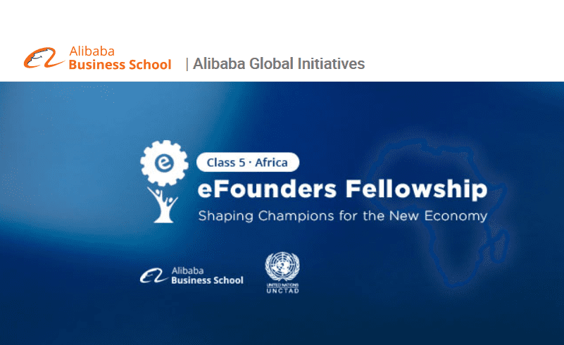 Alibaba Group eFounders Fellowship Program 2019 for young