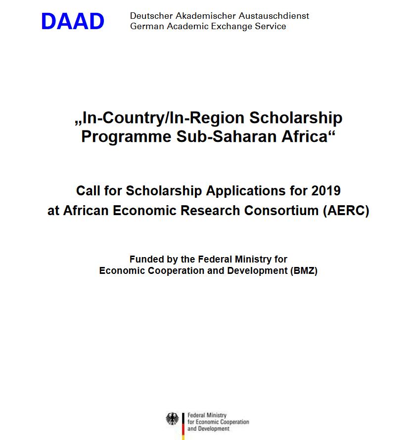 DAAD In-Region Masters & PhD Scholarships 2019/2020 for