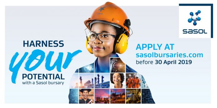 Image result for SASOL Bursary  Scholarship Programme 2020