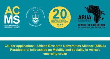 The African Research Universities Alliance (ARUA) 2019/2020