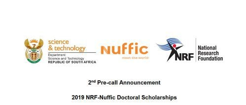 NRF-Nuffic Doctoral Scholarships 2019 for young South