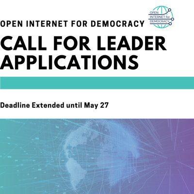 CIPE Open Internet for Democracy Leaders Program 2019 ($1000