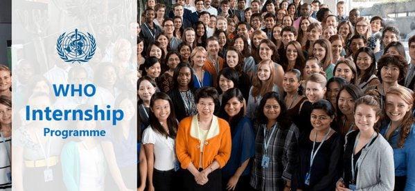 World Health Organisation (WHO) Internship Programme 2019