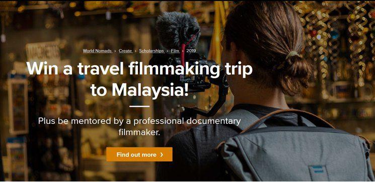 World Nomads Travel Film Scholarship 2019 for aspiring