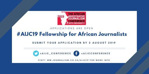 African Investigative Journalism Conference 2019 Bursary for