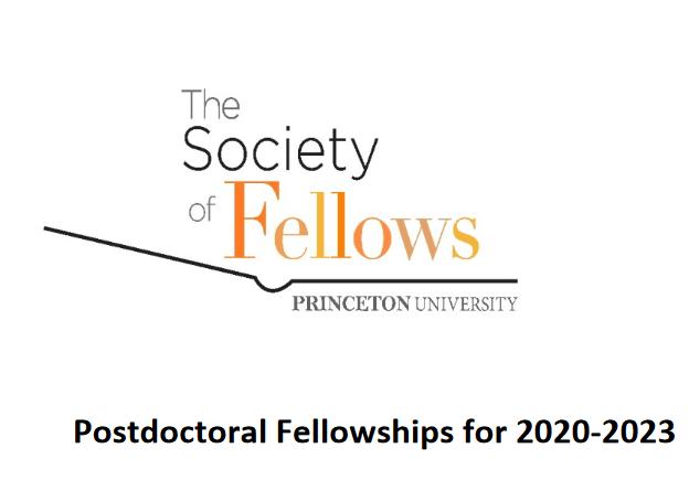 Princeton University Postdoctoral 2020/2023 Fellowship for