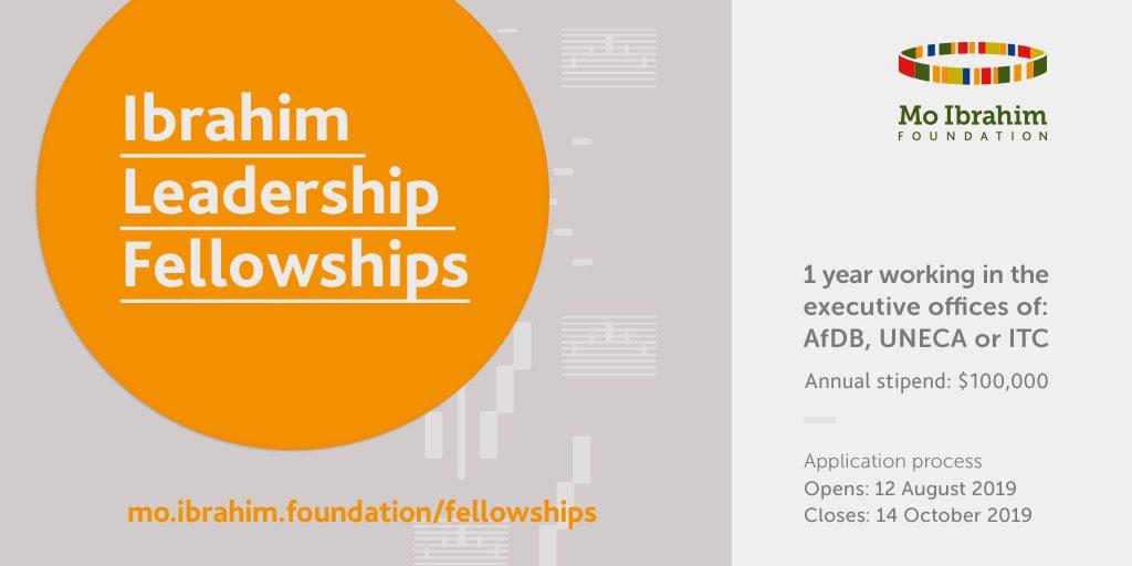 Mo Ibrahim Foundation Leadership Fellowship Program 2020 for