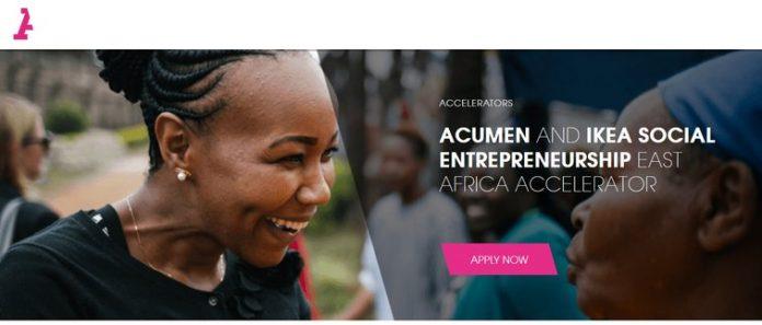 IKEA Social Entrepreneurship East Africa Accelerator