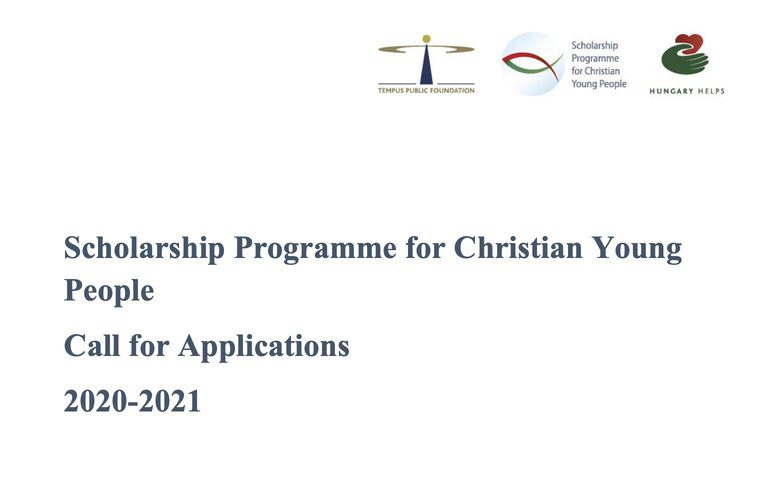 Hungary Scholarship Programme 2020/2021 for Christian ...