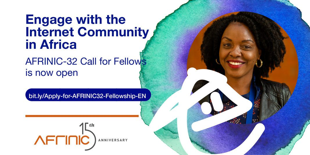 AFRINIC-32 Fellowship program 2020 (Fully Funded to the 2020 AFRINIC-32 meeting in Kinshasa, DR Congo)