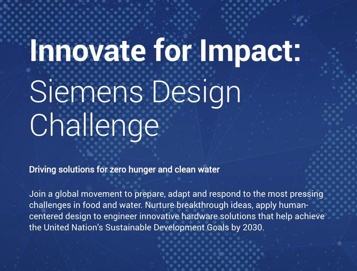 Innovate for Impact: Siemens Design Challenge 2020
