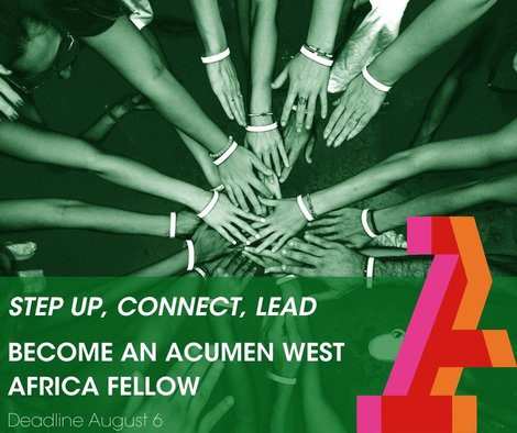 Acumen West Africa Fellowship 2020 for Entrepreneurs in Africa