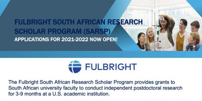 Fulbright Foreign Student Program 2021/2022 for South ...