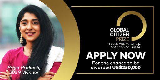 Cisco Youth Leadership Award 2020