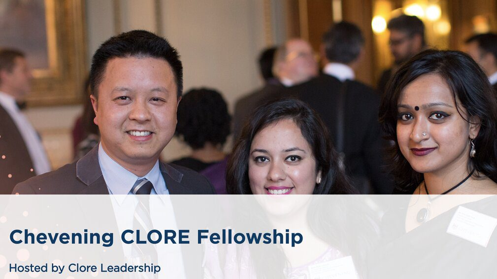 The Chevening Clore Leadership Fellowship 2021 for ...