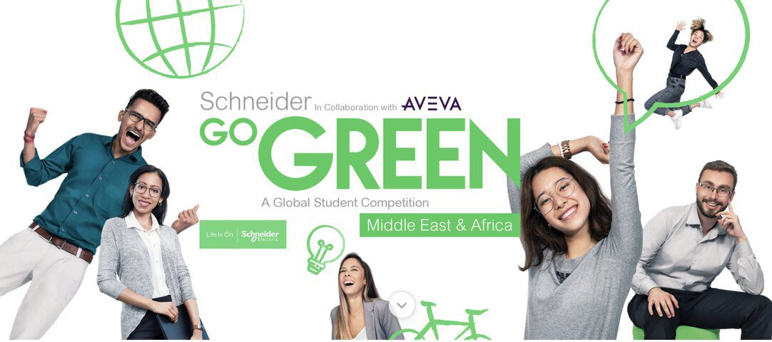 Go Green in the City 2021 Global Student Competition (Sponsored Trip to Schneider Electric's Global Innovation Summit!)