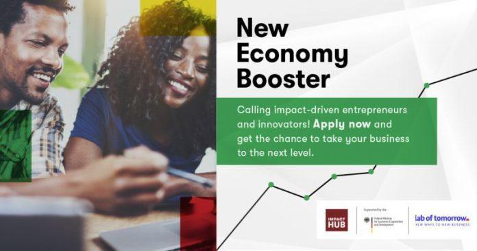Impact Hub New Economy Booster Program 2020