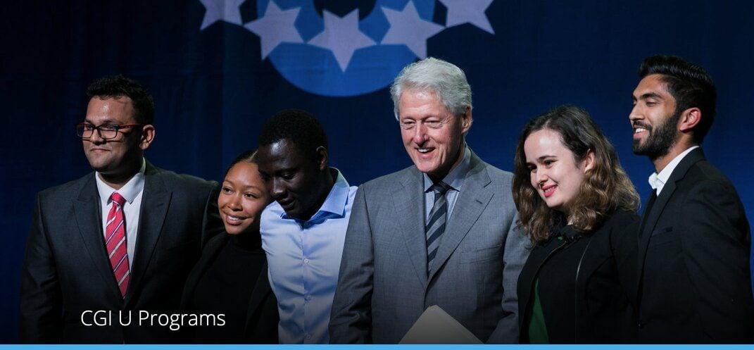 Clinton Global Initiative University Program 2021 for Higher Education Student Leaders