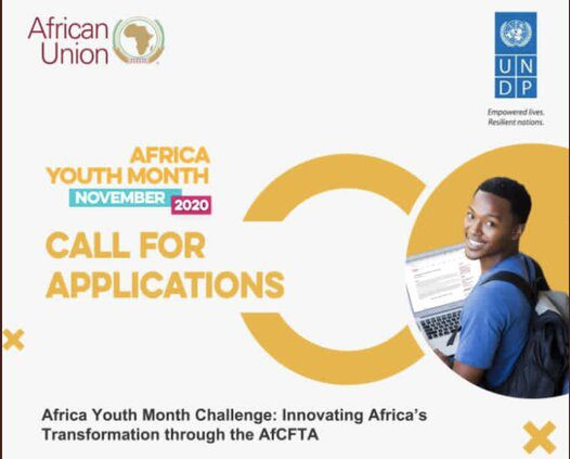 AfCFTA Africa Youth Month Policy Challenge 2020 for young African Innovators