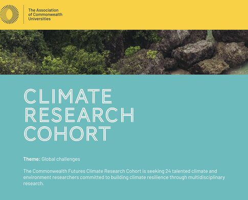 The ACU Commonwealth Futures Climate Research Cohort for climate and environment researchers (Funded attendance at COP26 in Glasgow, UK)