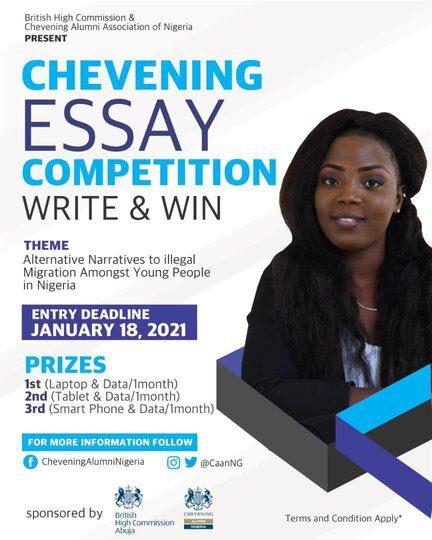 CHEVENING Essay Competition 2021 for Nigerian Undergraduates