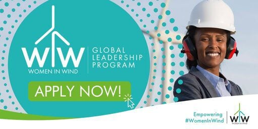 The Global Wind Energy Council (GWEC) Women in Wind Global Leadership Program 2021