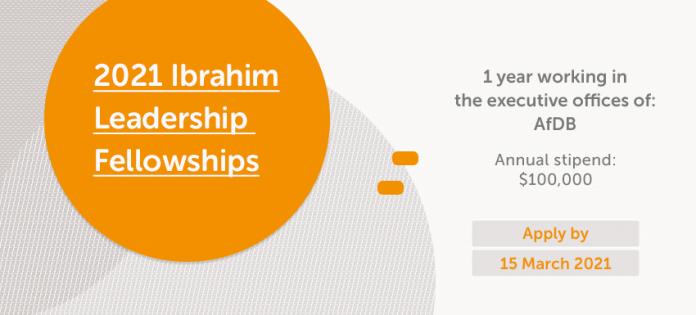 Mo Ibrahim Foundation Leadership Fellowship Programme 2021