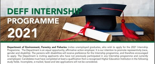 Department of Agriculture, Forestry & Fisheries (DAFF) Internship Programme