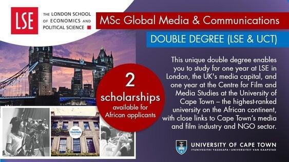 lse-uct-double-degree-masters-scholarships