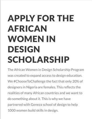 african-women-in-design-scholarship