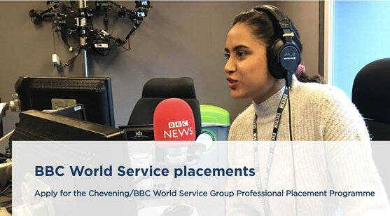 Chevening/BBC World Service Group Professional Placement Programme