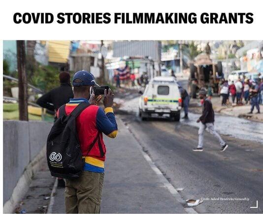 COVID STORIES FILMMAKING GRANTS