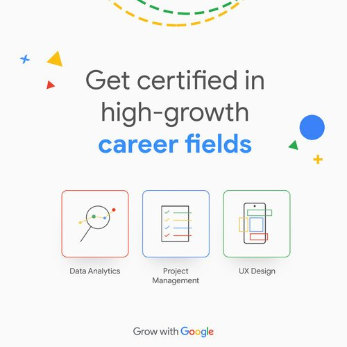 Google Career Certificate Scholarships