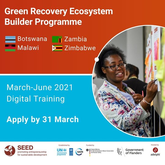 Green Recovery Ecosystem Builder programme
