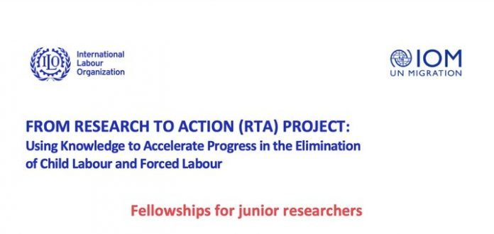 ILO) 2021 Fellowships and Seed Grants for Junior Researchers