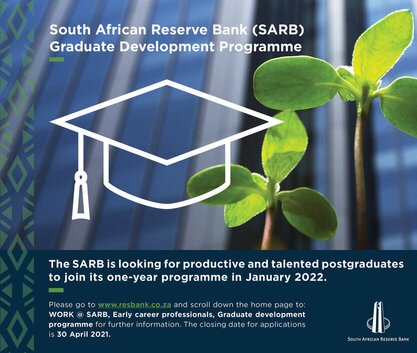 South African Reserve Bank (SARB) Graduate Development Programme