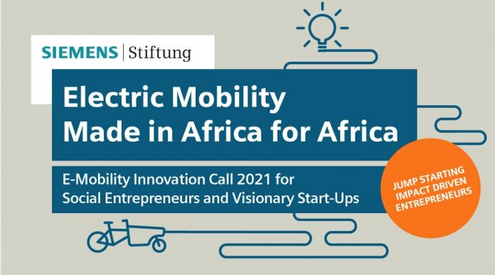 Siemens Stiftung E-Mobility Innovation