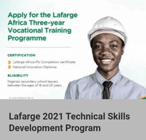lafarge-2021-technical-skills-development-program