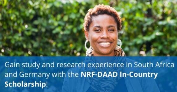 nrf-daad-postgraduate-scholarships-2021-2022
