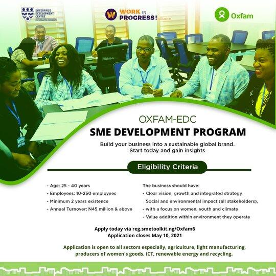 oxfam-edc-sme-development-program