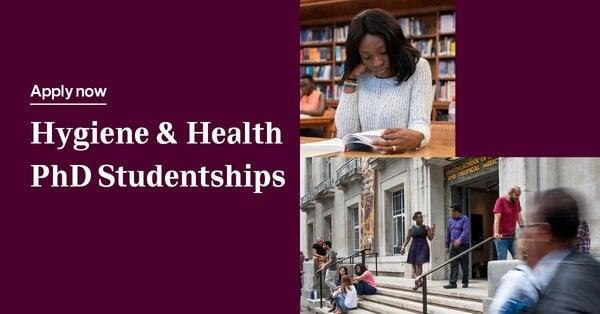 Reckitt-LSHTM PhD studentships on Hygiene & Health in Sub-Saharan Africa