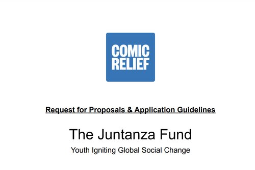 comic-relief-juntanza-fund