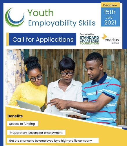 enactus-ghana-standard-chartered-youth-employability-skills-program