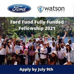 ford-foundation-scholarships-2021